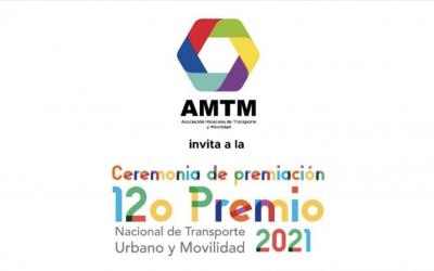 Ceremonia de premiación del 12º Premio Nacional de Transporte Movilidad 2021