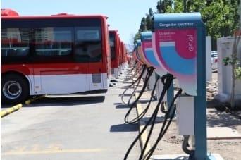 El avance de la electromovilidad en Santiago de Chile