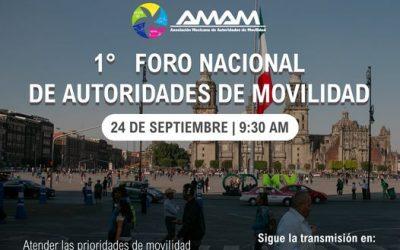 1° Foro de Autoridades de Movilidad